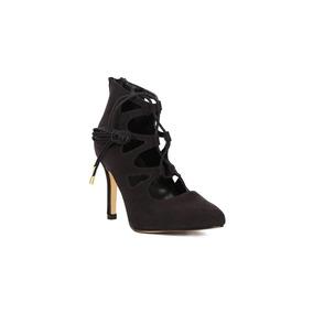 Trender Stiletto De Tiras Color Negro