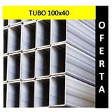 Tubo Estructural 100x40 2.25mm 6metros