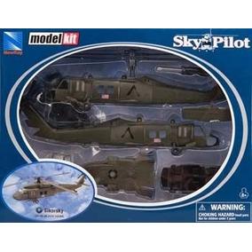 Kit Montar Helicóptero Sikorsky Uh-60 Black Hawk New Ray