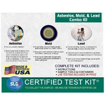 Mold Asbesto Y Plomo Test Kit Combo