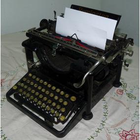 0492 - Maquina Escribir Remington 1910 Original Ilion Ny Usa