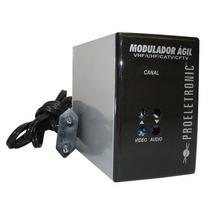 Modulador Agil Proeletronic Camera Segurança Catv Uhf Vhf