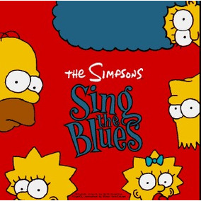 Cd The Simpsons - Sing The Blues