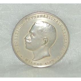 Medalla Exposicion Internacional Lavoro Milan 1913 Sansoni