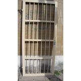 Puerta Reja Reforzada Luz Entre Barras De 9 Cm Antipatada