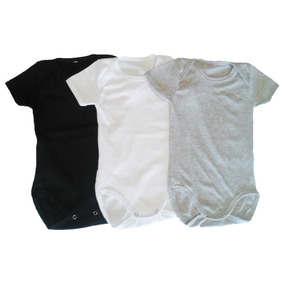 Bodys Bebes Manga Corta X Unid. 100% Cotton Pure