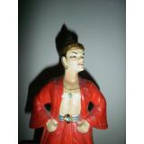 Vintage Figura De Ceramica De Kreiss Hecho En Japon