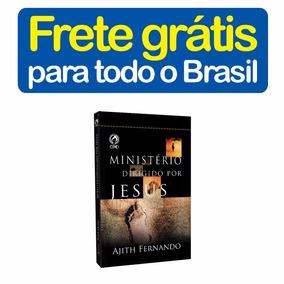 Livro Ministério Dirigido Por Jesus Ajith Fernando Cpad R658