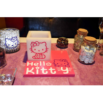 Centro De Mesa Hello Kitty Aluzza.
