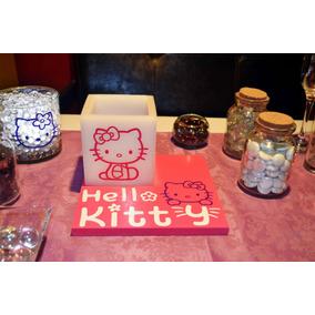 Centro De Mesa Hello Kitty 10 Piezas Aluzza.