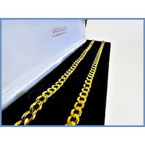 Cadena Oro Amarillo Solido 14k Mod. Barbada De 5mm 20grs