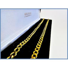 V I P- Cadena Oro Amarillo Solido 10k Mod Barbada 5mm 20grs