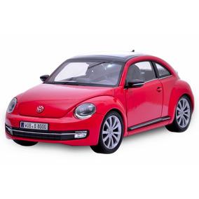 Volkswagen Fusca 2012 1:24 Welly Vermelho