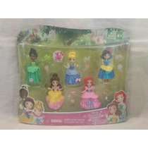 Set Mini Princesas Disney Coleccion Brillo Real Oferta
