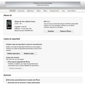 Iphone 3g 16 Gb, Por Partes, Logica, Display. Bateria