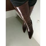 Botas 100% Cuero Mujer Talla 36 Y 36.5 Zapatos Taco