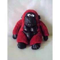Macaco Pelúcia 20 Cm Anos 90 - Antigo