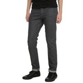 Hot Topic Pantalones Grises Rude Grey Rider Skinny Jeans