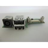 Mlc011 Power Jack Modulo Para Dell Inspiron 1526 Gris