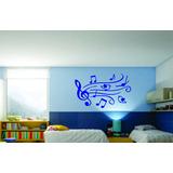 Adesivo Decorativo Parede Infantil Notas Musicais Quarto