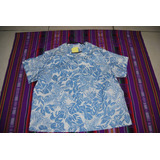 Camisa Hawaiana De Mujer Made In Usa C 1328
