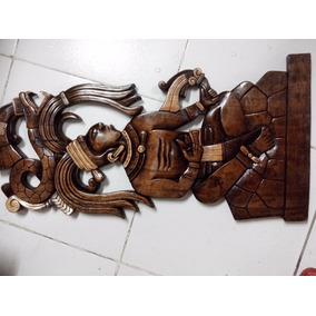 Artesanías Mayas Talladas En Madera Merida