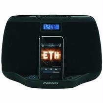 Memorex Mi3021blk Sistema De Audio Compacto Para Ipod Iphone