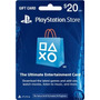 Tarjeta Playstation Store 20 Usd Psn Card Gift Card Ps4 Ps3