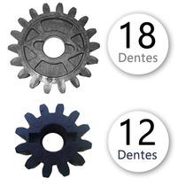 Engrenagem / Coroa Externa 12 / 18 Motor Rcg Deslizante