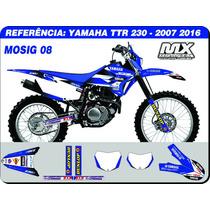 Adesivos - Ttr 230 2007 2015 - Mosig 08 - Qualidade 3m