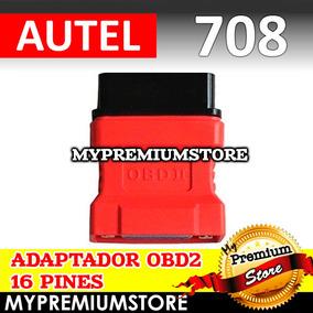 Adaptador Obd2 16 Pines Para Autel Maxidas Ds708 Automotriz