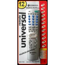 Control Remoto Universal Tv Dvd Vcr Sat Cable Aux Sonivox.