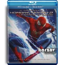 El Sorprendente Hombre Araña 2 Dos Pelicula Blu-ray 3d + Bd