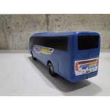 Onibus Tipo Bolha Cor Azul 46cm Comp. Por 10cm Largura