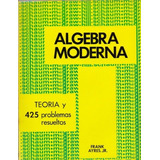 Libro, Algebra Moderna De Frank Ayres, Jr.. Serie Schaum.