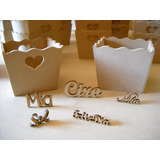 10 Mini Maceteros-carameleras ¡¡¡super Oferta!!!!