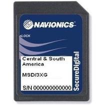 Carta Náutica Navionics Gold 3xg - America Do Sul E Central