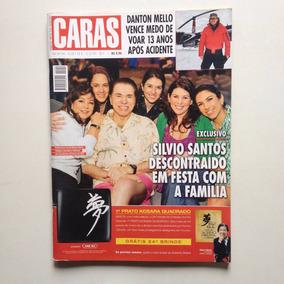 Revista Caras Silvio Santos Reginaldo Faria Hebe Nº929