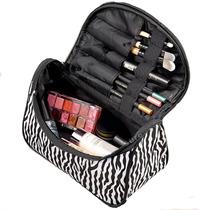 Necessaire Bolsa Feminina Ziper Maquiagem Esmalte P/ Viagem