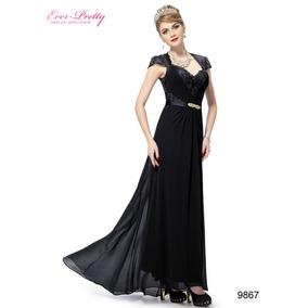 Vestido Longo Importad Festa Ever Pretty=p\m=95-100 Cm Busto