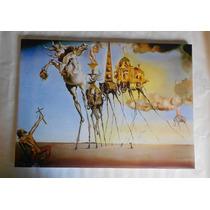 Cuadros Salvador Dali En Tela Canvas Con Bastidor 50x60