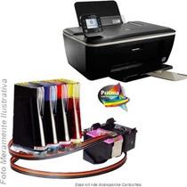 Bulk Ink Para Impressora Hp 3516 Com Presilhas Especiais