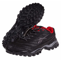 Zapatillas Reebok Modelo Trekking Cross City Color Black/red