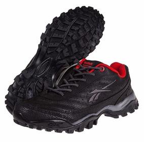 Zapatillas Reebok Modelo Trekking Cross City Color Black/red