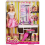 Set De Muñeca Barbie Con Accesorios Para Peinar.