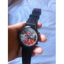 Relógio De Puslo Masculino Tommy Hilfger Pulseira Preta