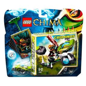 Brinquedo Novo Lego Chima - Boliche Com Pedras 70103