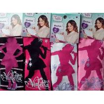 Medias Footy De Violetta Primavera Verano 3 Pares X $ 120