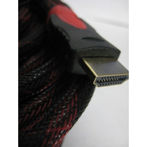 Cable Hdmi 5 Metros Full Hd 1080p Tv Lcd Led Xbox Laptop Pc