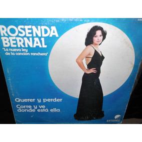Rosenda Bernal La Nueva Ley De La Cancion Lp Vinilo Acetato
